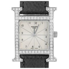 Hermes H Hour HH1.210, Case, Certified and Warranty
