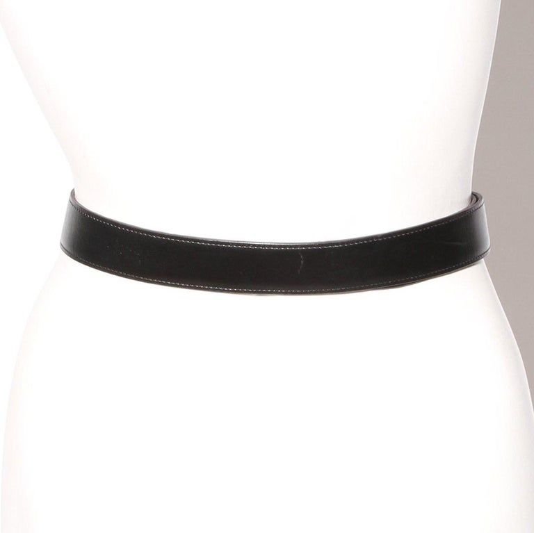 Hermès H Reversible Belt Circa 2011 In Good Condition In Los Angeles, CA