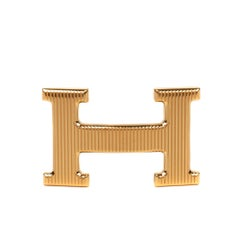 Hermès H2 Gold buckle for belt 3,2 cm, pristine condition !
