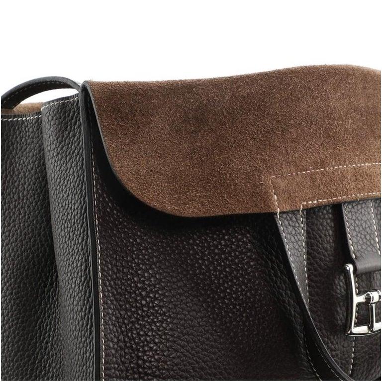 Hermes Halzan Bag Togo 31 For Sale 7