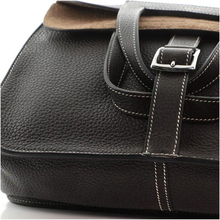 Hermes Halzan Bag Togo 31 For Sale 5