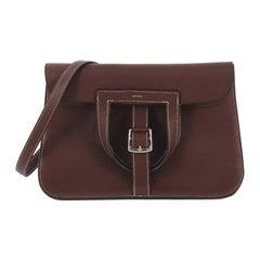 Hermes Halzan Handbag Clemence 31