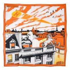 Hermes Handkerchief Minuit au Faubourg New w/ Box