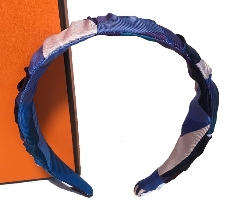 This listing is for one headband. Hermes Silk