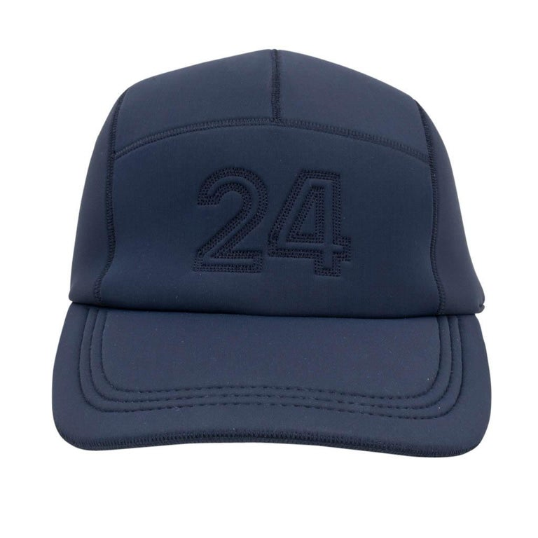 0771ca41f3d Hermes Nevada 24 cap features Marine neoprene. 24 is embroidered on the  front and HERMES