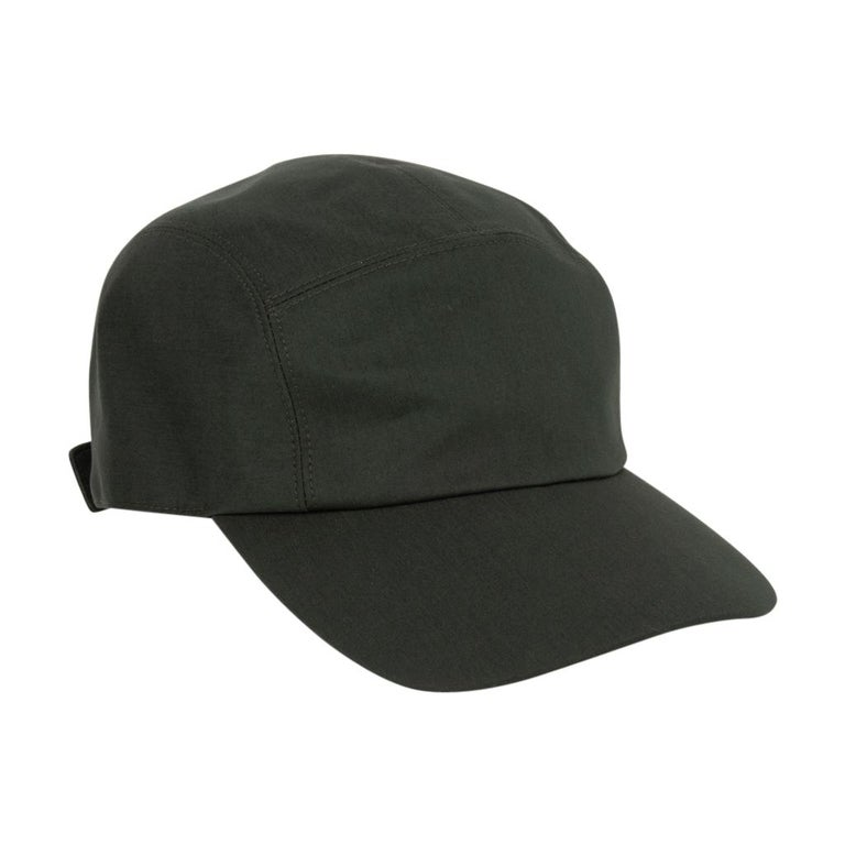 Hermes Hat Nevada Cap Cotton Serge Vert Anglais 59  For Sale 3