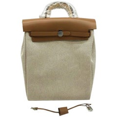 Hermes Herbag a dos Zip Retourne Backpack - New Condition