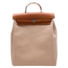 Hermès HerBag A Dos Zip Retourné Backpack PHW