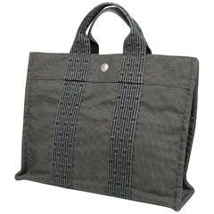 HERMES Herline tote PM unisex tote bag gray