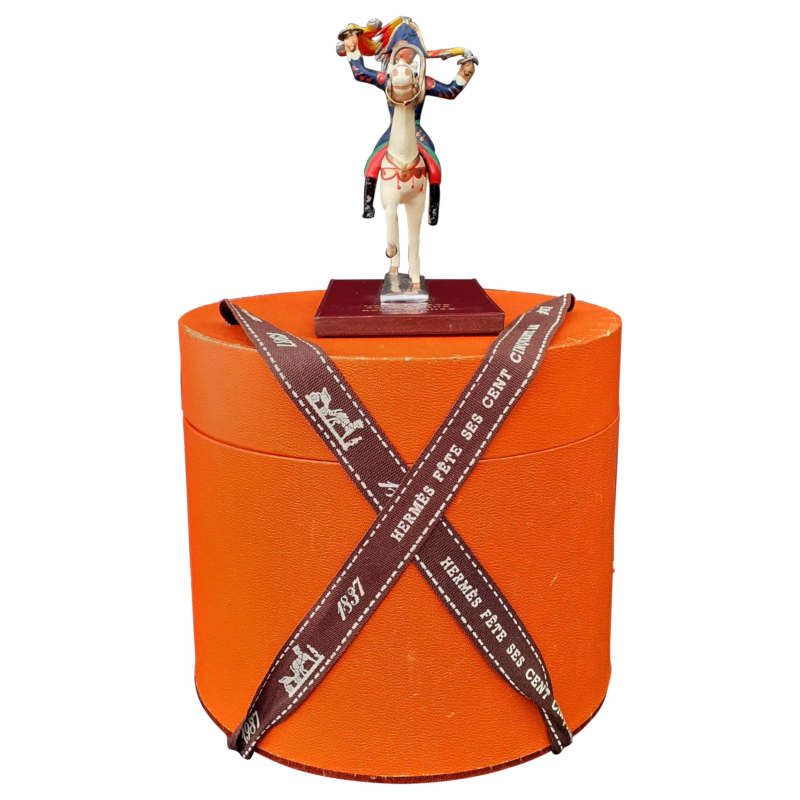 Hermès Hermès celebrates its 150th anniversary Figurine Rider Horse 1837-1987
