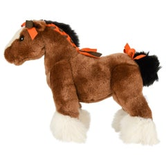 Hermes Hermy The Horse Plush Toy New