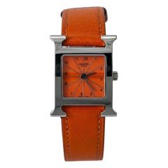 Hermes Heure H HH1-210, Black Dial, Certified and Warranty