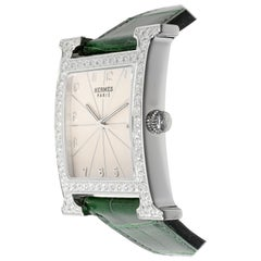 Hermès Heure H HH1-830 Unisex Watch in Stainless Steel