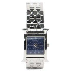 Hermès Heure H Quartz Watch Stainless Steel 21