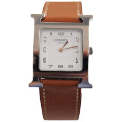 Hermès Heure HH1 510 Automatic Quartz Watch Stainless Steel