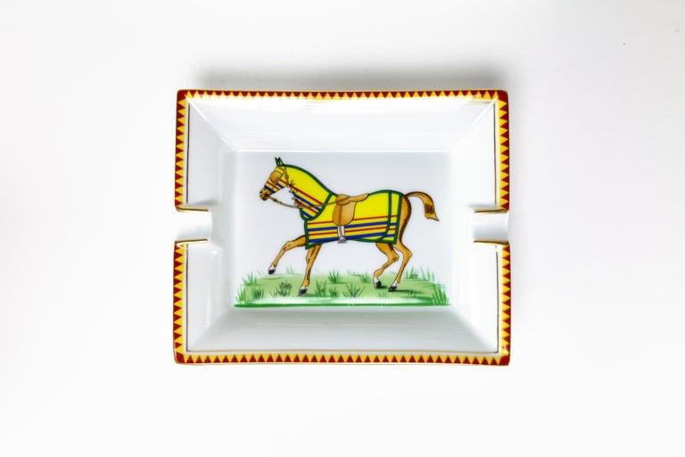 Modern Hermes Horse Ashtray For Sale