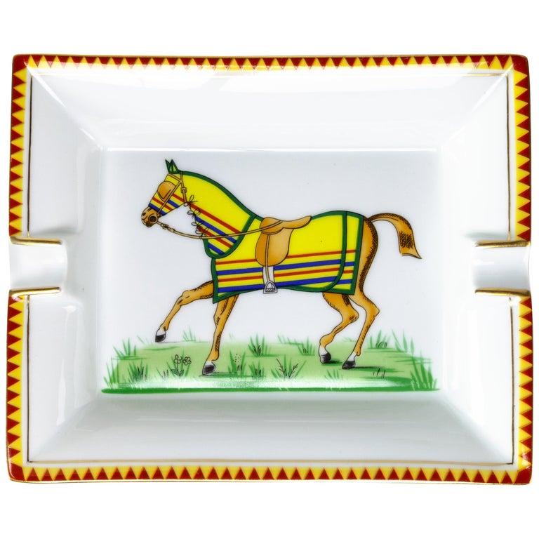 Hermes Horse Ashtray For Sale