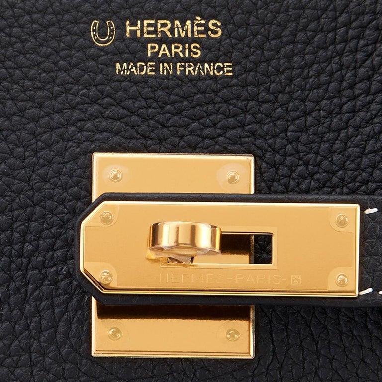 Women's or Men's Hermes HSS Birkin Black Craie