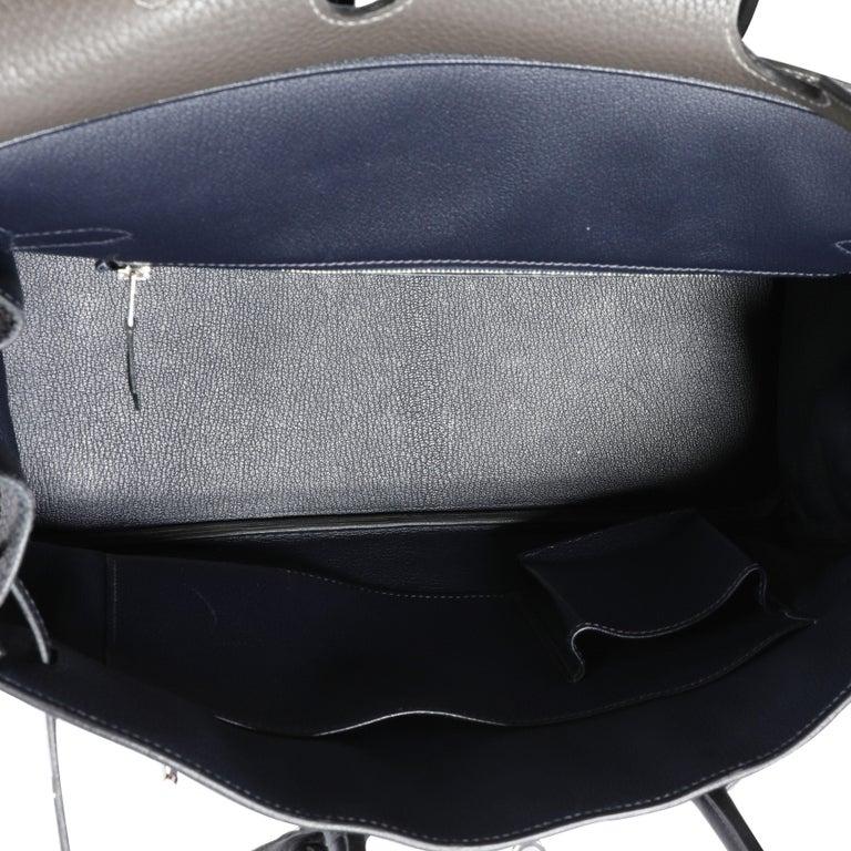 Hermès HSS Tricolor Togo Birkin 35 PHW For Sale 1