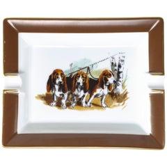 Hermès Hunting Dog Ashtray