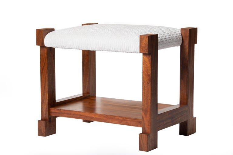 Hermes Inspired Herman Stool In New Condition For Sale In Carmel, CA