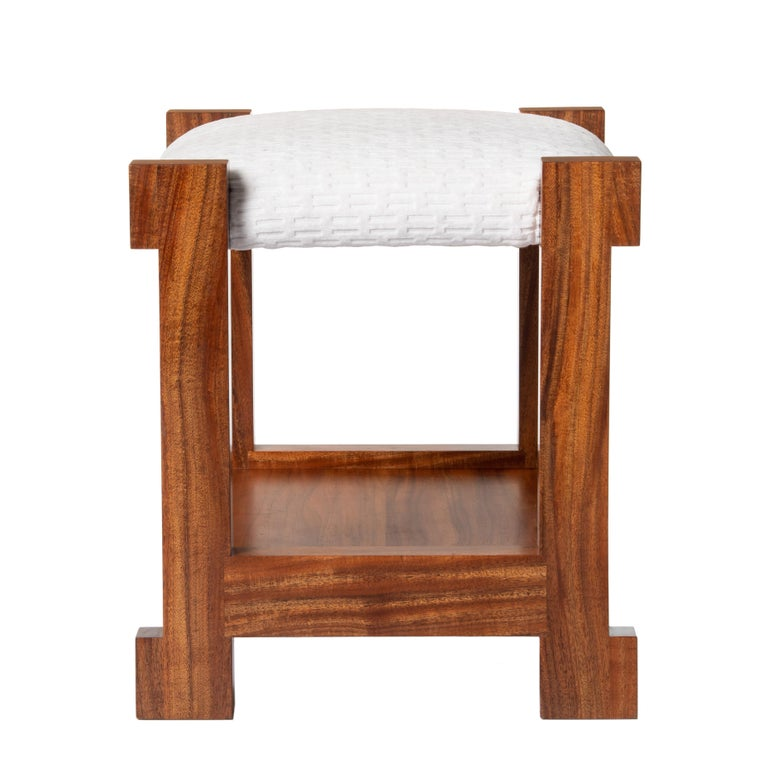 Contemporary Hermes Inspired Herman Stool For Sale