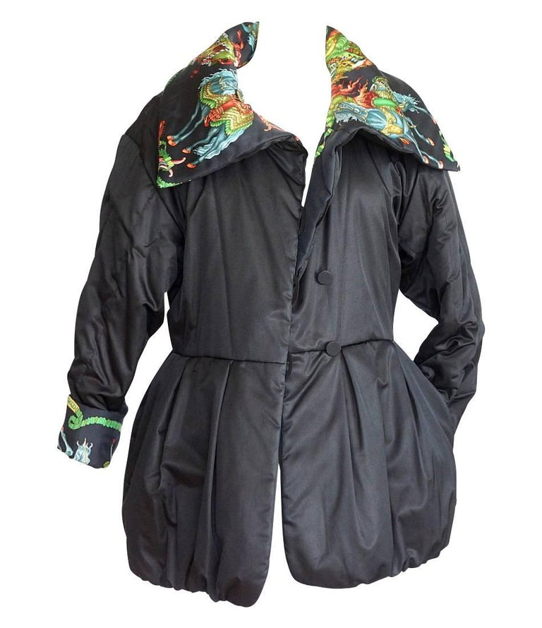 Hermes Jacket Remarkable Vintage Les Fetes Du Roi Soleil Reversible 38  In Excellent Condition For Sale In Miami, FL