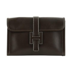 Hermes Jige Clutch Box Calf PM