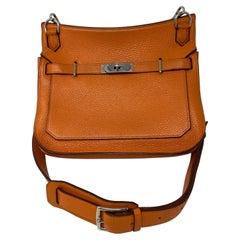 Hermes Jypsiere 28 Orange Bag