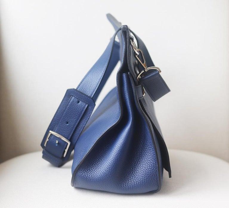 Women's Hermès Jypsière 37cm Togo Palladium H/D Bag For Sale