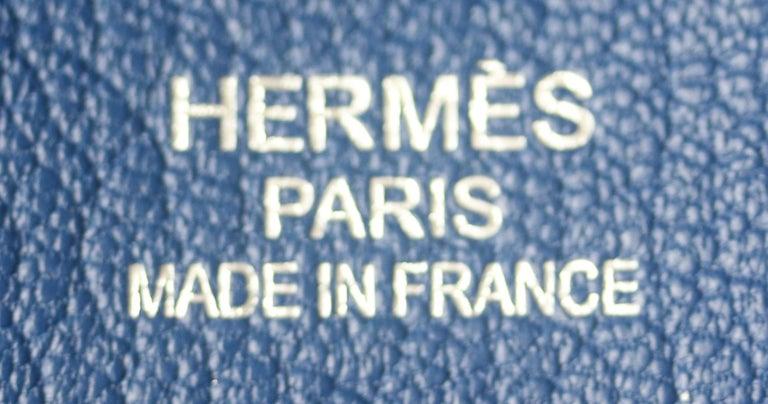 Hermès Jypsière 37cm Togo Palladium H/D Bag For Sale 4