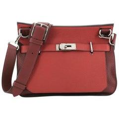 Hermes Jypsiere Bag Bicolor Clemence 31
