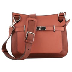 Hermes Jypsiere Bag Bicolor Clemence and Swift 31