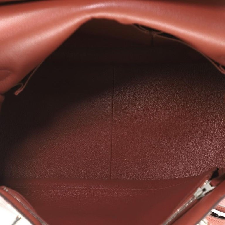 Hermes Jypsiere Bag Clemence 34 For Sale 1