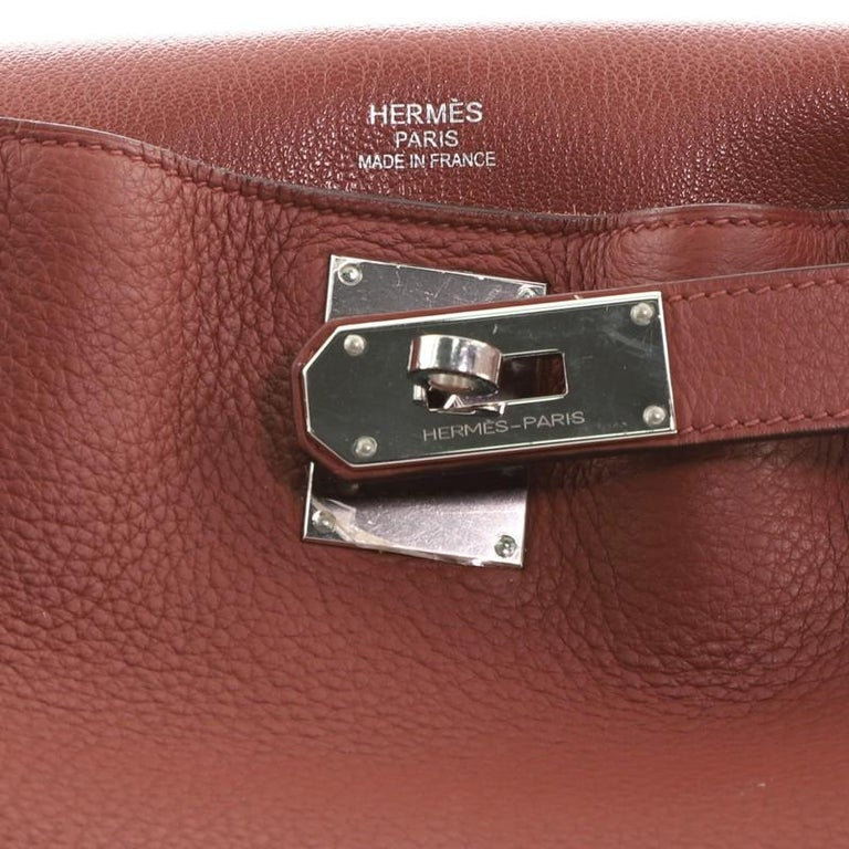 Hermes Jypsiere Bag Clemence 34 For Sale 2