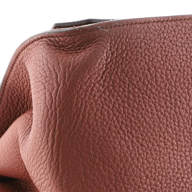 Hermes Jypsiere Bag Clemence 34 For Sale 3