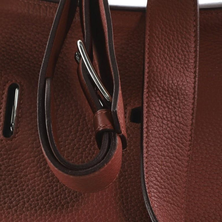 Hermes Jypsiere Bag Clemence 34 For Sale 4