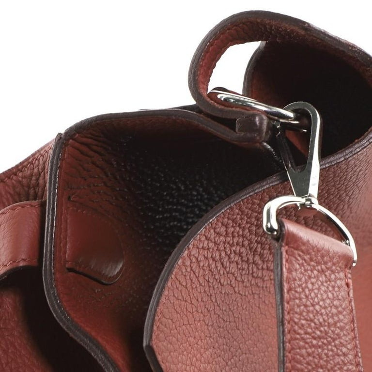 Hermes Jypsiere Bag Clemence 34 For Sale 5