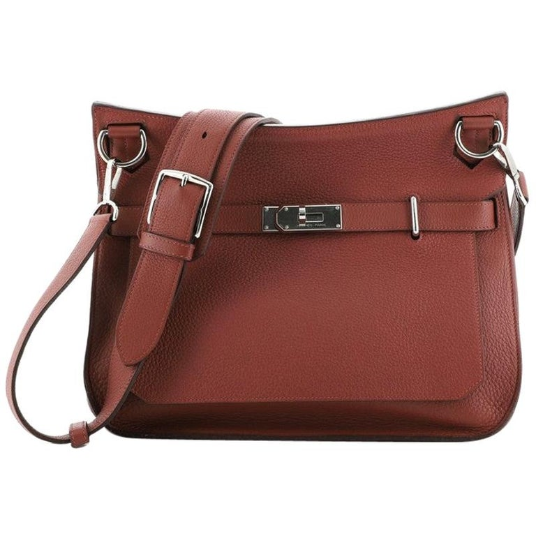 Hermes Jypsiere Bag Clemence 34 For Sale