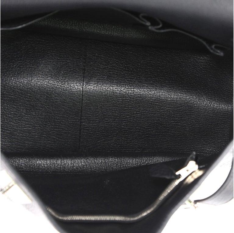 Hermes Jypsiere Handbag Clemence 28 For Sale 5