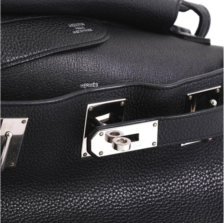Women's Hermes Jypsiere Handbag Clemence 28 For Sale