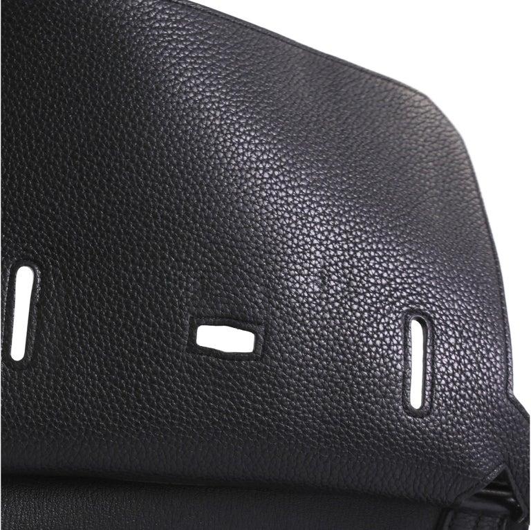 Hermes Jypsiere Handbag Clemence 28 For Sale 2