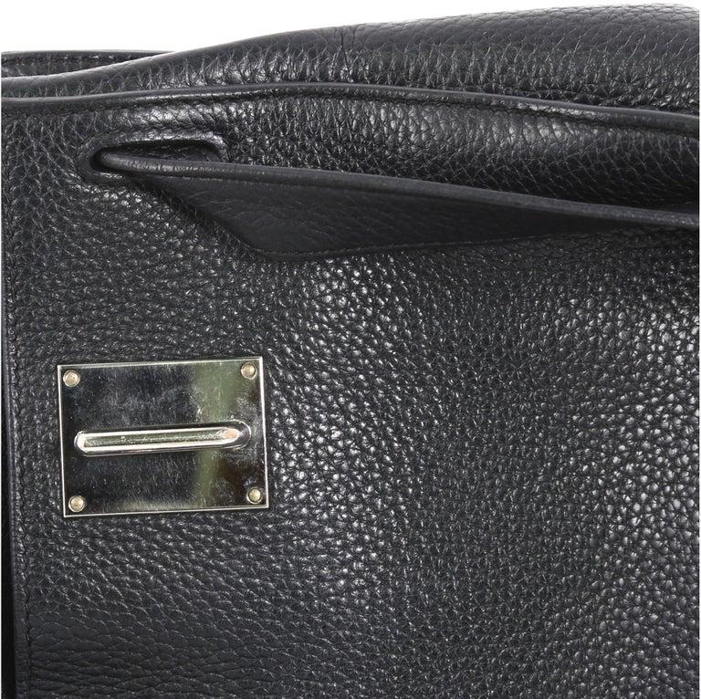 Hermes Jypsiere Handbag Clemence 28 For Sale 4