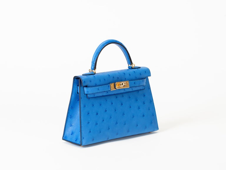Limited edition unworn Hermes Kelly 20cm Model II in seasonal color