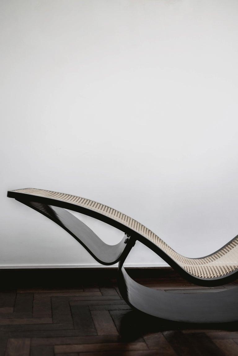 Original Vintage Rio Modern Chaise By Oscar Niemeyer For