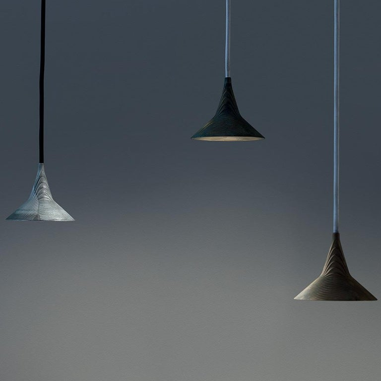 Modern Artemide Unterlinden LED Pendant Light in Aluminum by Herzog & De Meuron For Sale