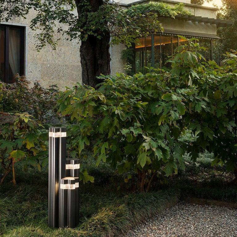 Modern Artemide Logico Triple Garden Light by Michele De Lucchi, Daniele Moioli For Sale