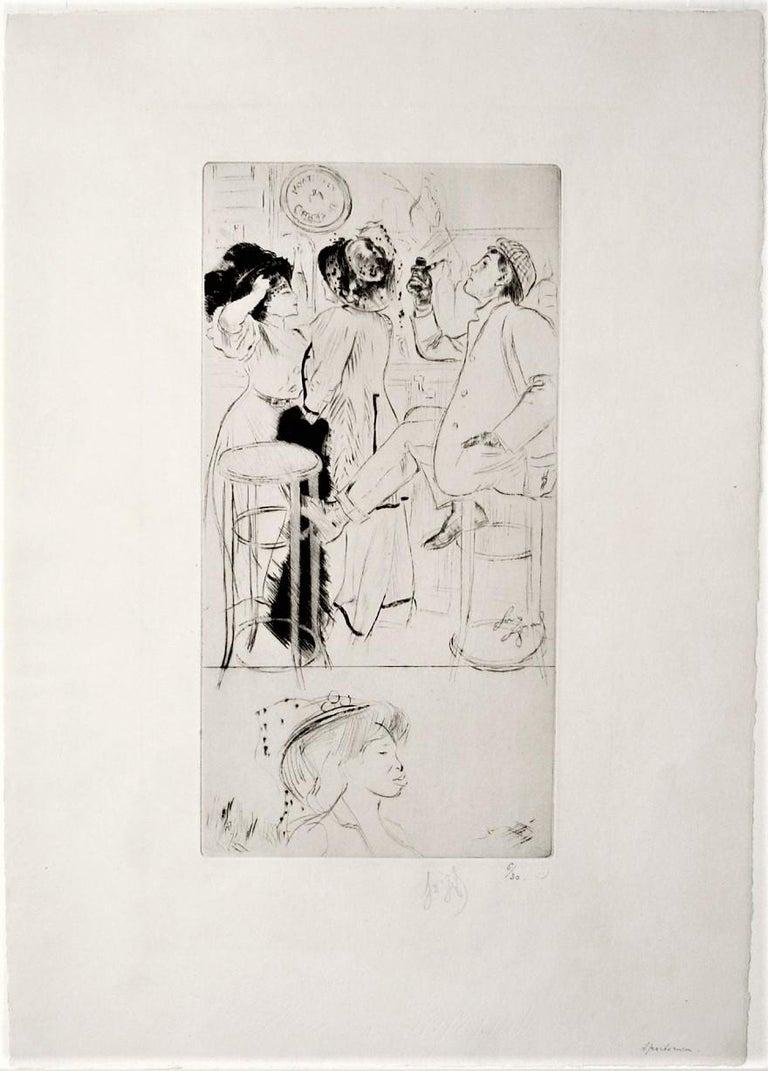 Sportsmen - Print by Louis Legrand