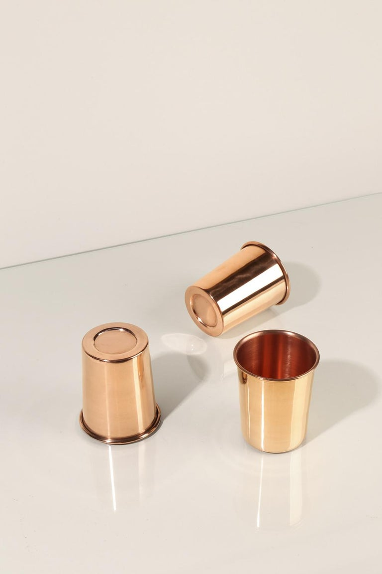 Modern Copper Cup For Sale