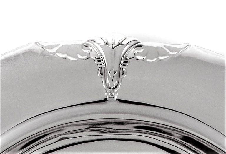 American Sterling Art Nouveau Bowl For Sale